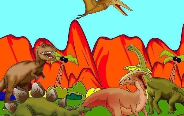 关于恐龙的事情作文300字