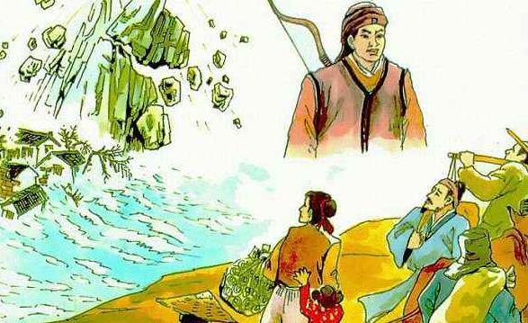 缩写《猎人海力布》作文400字