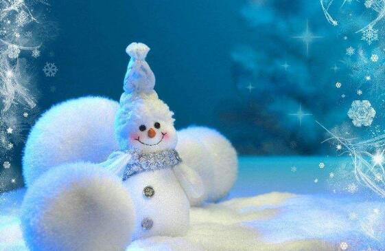一个雪人,是怎样慢慢融化和消失的
