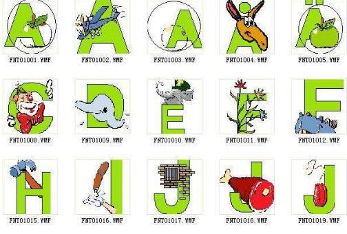 有趣的字母象形故事作文200字300字