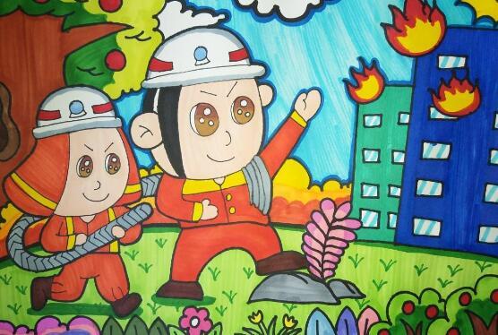 我是小小消防员作文300字