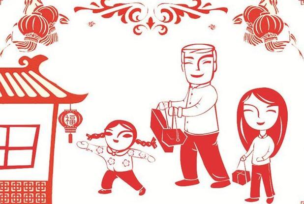 春节印象作文600字
