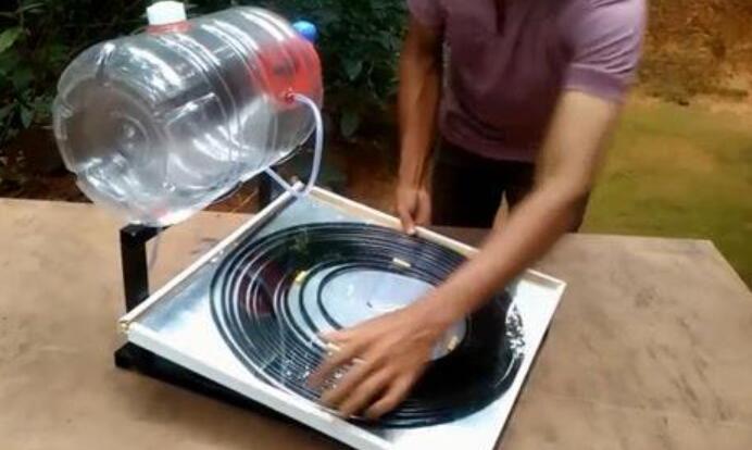 太阳能热水器的制作说明文500字