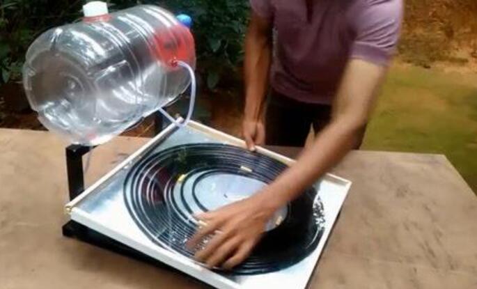 太阳能热水器的制作说明文600字